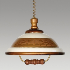 Detail produktu ACRYL WOOD 73006 K53 1xE27/60W,CHANDELIER OAK
