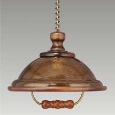 Detail produktu ACRYL WOOD/WLA-04	73006 K54, CHANDELIER WALNUT