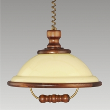 Detail produktu ACRYL WOOD/WLA-04	73006 Z54, CHANDELIER WALNUT